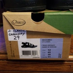 Chaco Shoes - Chaco Men's Z1 Classic Tread Greenery Sz. 12 NIB